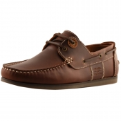 Barbour Capstan Deck Shoes Brown