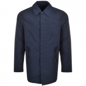 Fred Perry Tonic Caban Mac Jacket Navy
