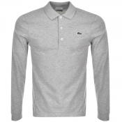 Lacoste Sport Slim Polo T Shirt Grey
