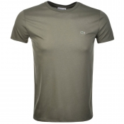 Lacoste Crew Neck T Shirt Green