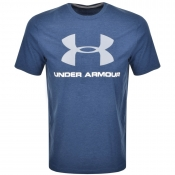 Under Armour Sportstyle Logo T Shirt Blue