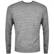 Lacoste Live Crew Neck Jumper Grey