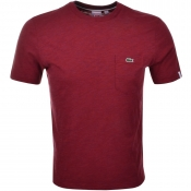 Lacoste Live Pocket T Shirt Red