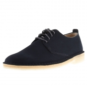 Clarks Originals Desert London Shoes Navy