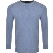 Superdry Crew Neck LA Jumper Blue