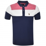 Luke 1977 Mickey Spacers Polo T Shirt Navy