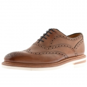 Oliver Sweeney Bideford Brogue Shoes Brown