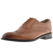 Sweeney London Fellbeck Brogue Shoes Brown