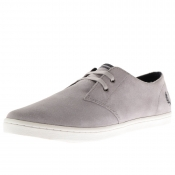 Fred Perry Byron Low Suede Shoes Grey