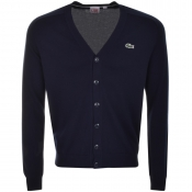 Lacoste Live Cardigan Jumper Navy