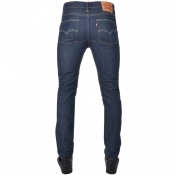 Levis 510 Skinny Fit Jeans Blue