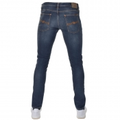 Nudie Jeans Long John Super Tight Fit Jeans Blue