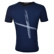 Nudie Jeans Ove T Shirt Blue