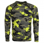 Replay Camouflage Jumper Green
