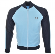 Fred Perry Bomber Track Jacket Blue