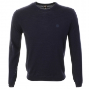 Pretty Green Mosley Knit Jumper Navy