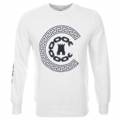 Crooks And Castles Reigning Jumper White