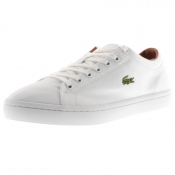 Lacoste Straightset Trainers White