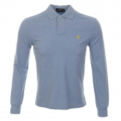 Ralph Lauren Custom Fit Polo T Shirt Blue