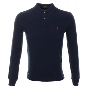 Ralph Lauren Custom Fit Polo T Shirt Navy