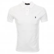 Ralph Lauren Custom Fit Polo T Shirt White