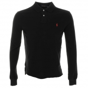 Ralph Lauren Custom Fit Polo T Shirt Black