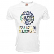 Franklin Marshall Logo T Shirt White