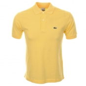 Lacoste Polo T Shirt Yellow