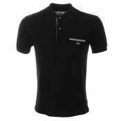Lacoste Pocket Polo T Shirt Black