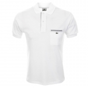Lacoste Pocket Polo T Shirt White
