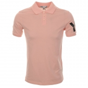 Y3 Classic Polo T Shirt Light Orange