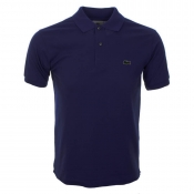 Lacoste Polo T Shirt Blue