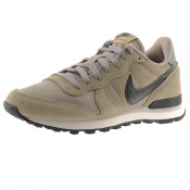 Nike Internationalist Leather Trainers Beige