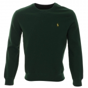 Ralph Lauren Crew Neck Sweatshirt Jumper Green