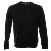 HUGO BOSS Green Salbo 1 Sweatshirt Jumper Black