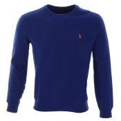 Ralph Lauren Crew Neck Sweatshirt Jumper Blue