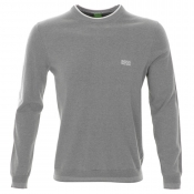 HUGO BOSS Green Rime PS Jumper Grey Marl