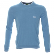 HUGO BOSS Green Rime PS Jumper Medium Blue