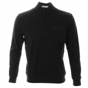 HUGO BOSS Green Sweat Jumper Black