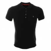 Diesel T Yahei Polo T Shirt Black