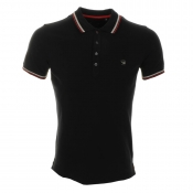 Diesel T Oin Polo T Shirt Black