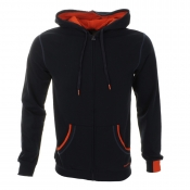 Diesel Brandon Hooded Jumper Navy