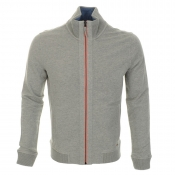 HUGO BOSS Orange Zane 1 Jumper Grey Marl