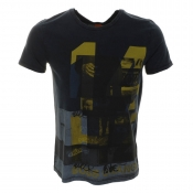 HUGO BOSS Orange Talesman 2 T Shirt Dark Blue