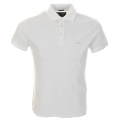 Armani Jeans Polo T Shirt White