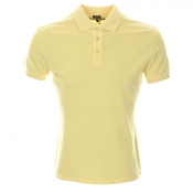 Armani Jeans Polo T Shirt Yellow