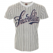 Franklin Marshall Baseball T Shirt Grey