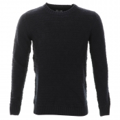 Weekend Offender Carrow Knit Jumper Navy