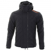 Superdry Quilted Polar Windcheater Jacket Navy