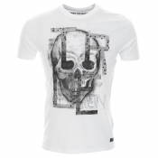 True Religion Skull Crew T Shirt White